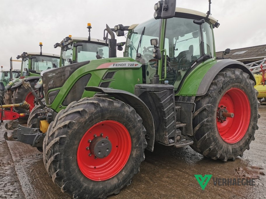 Tracteur agricole Fendt 720 POWER S4 - 1