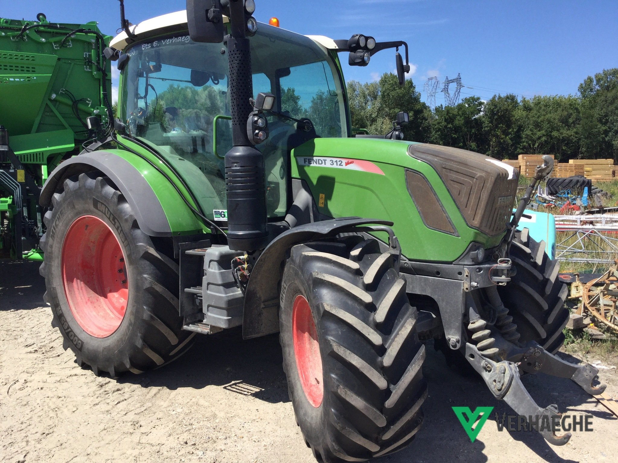 Tracteur agricole Fendt 312 S4 POWER - 1