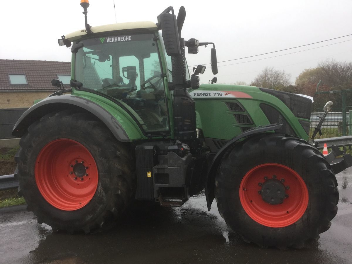 Tracteur agricole Fendt 716 power s4 - 1