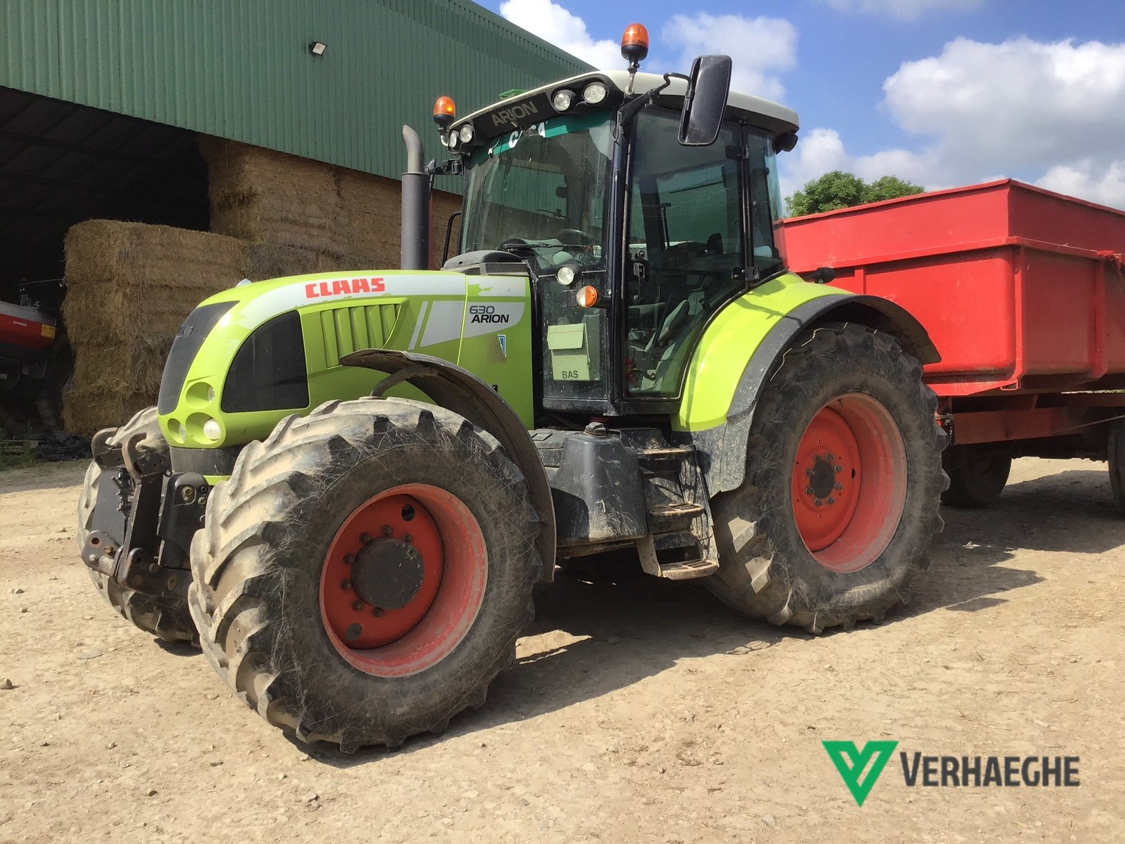 Tracteur agricole Claas ARION 630 CEBIS - 1