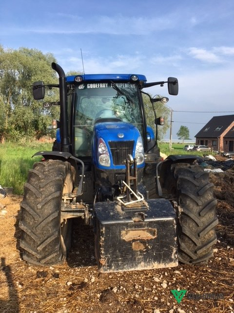 Tracteur agricole New Holland T6 175  - 1