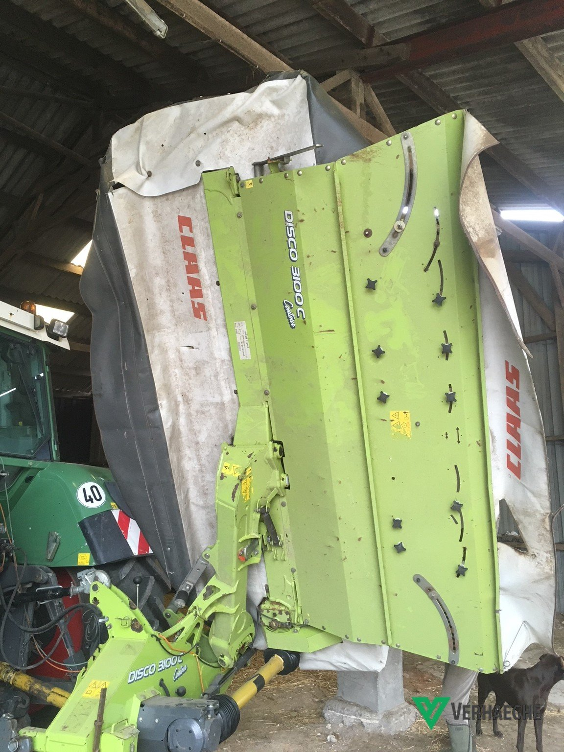 Faucheuse conditionneuse Claas Disco 3100c - 1