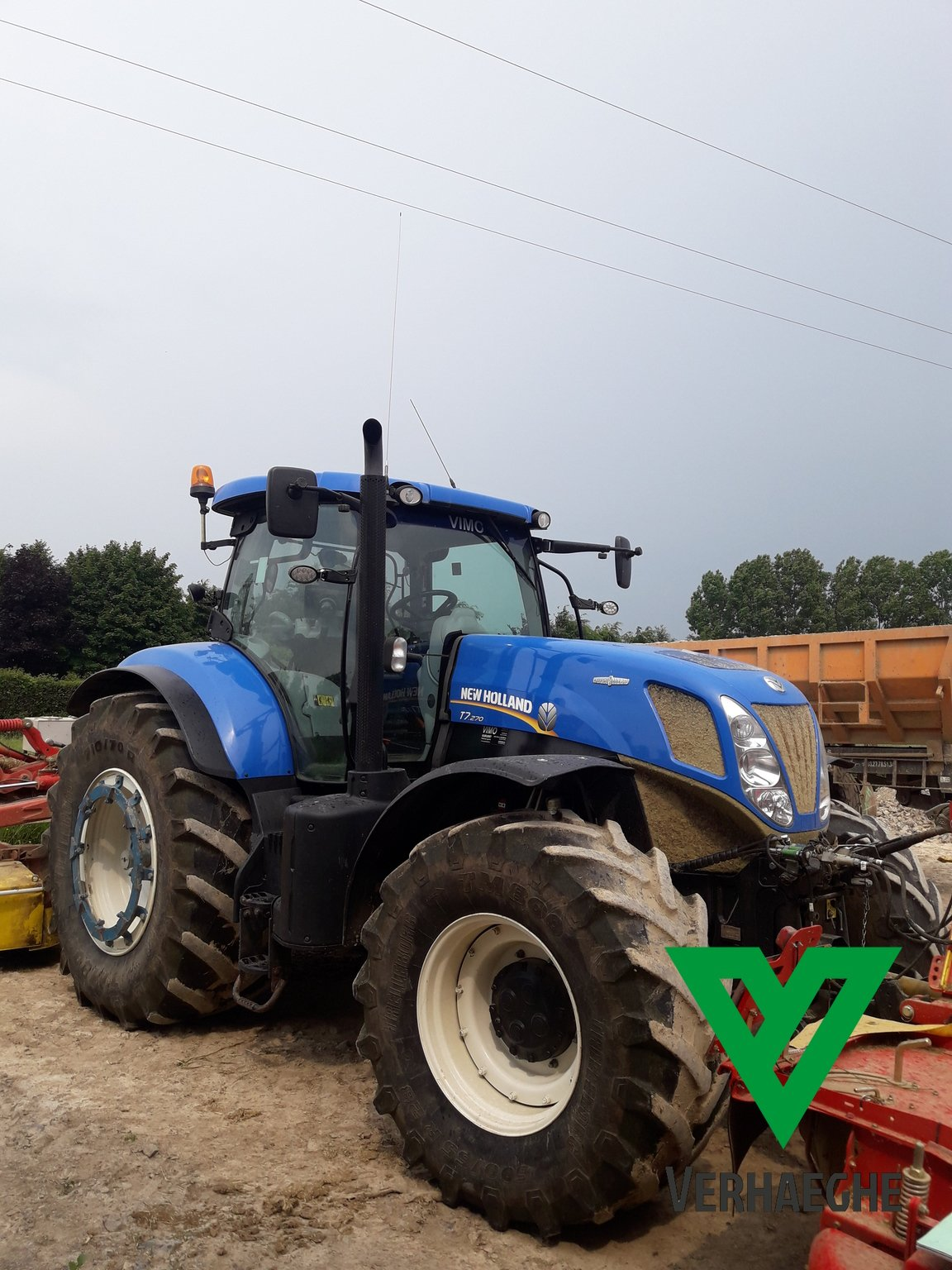 Tracteur agricole New Holland T7 270 - 1