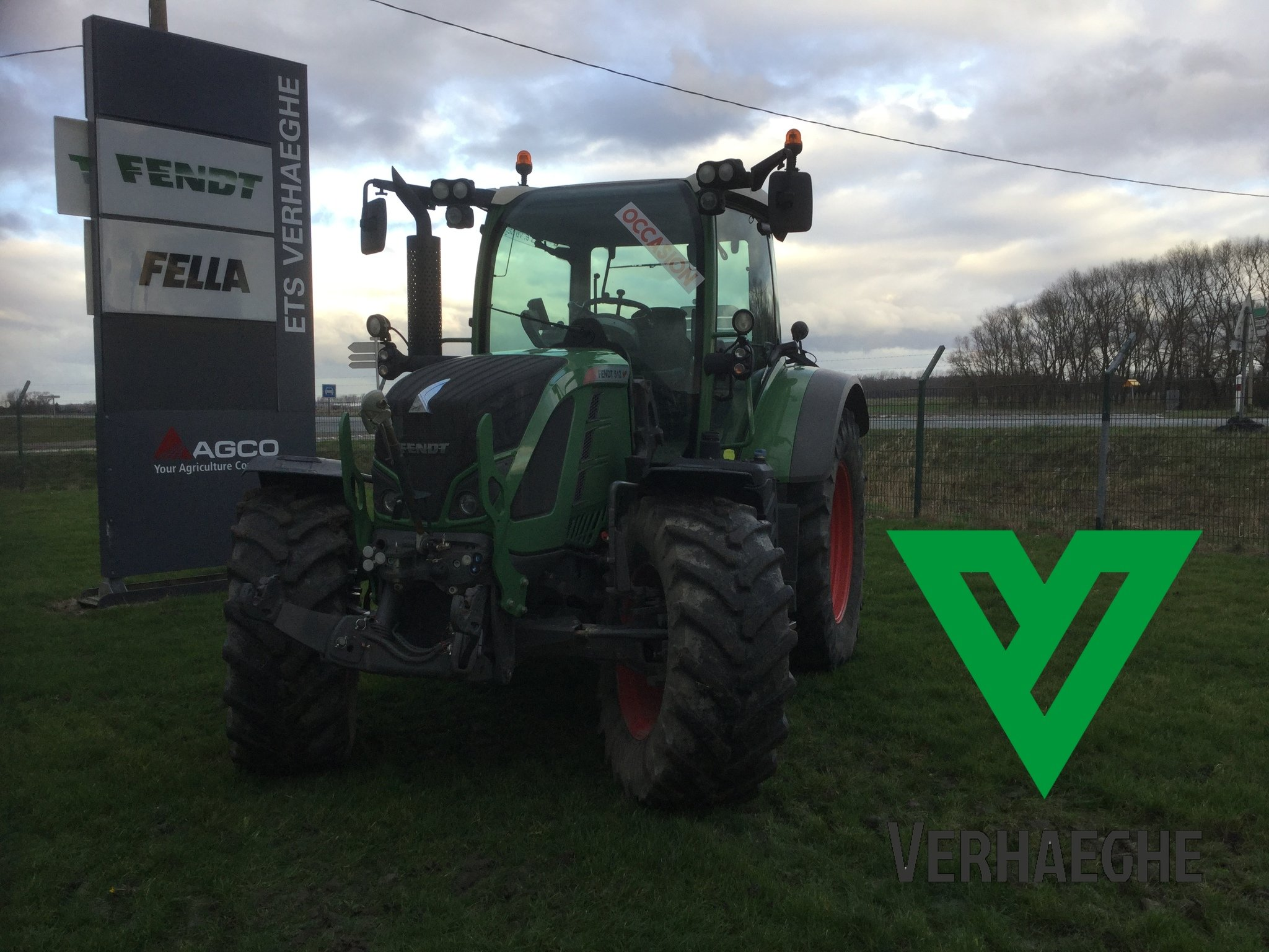 Tracteur agricole Fendt 512 power - 1