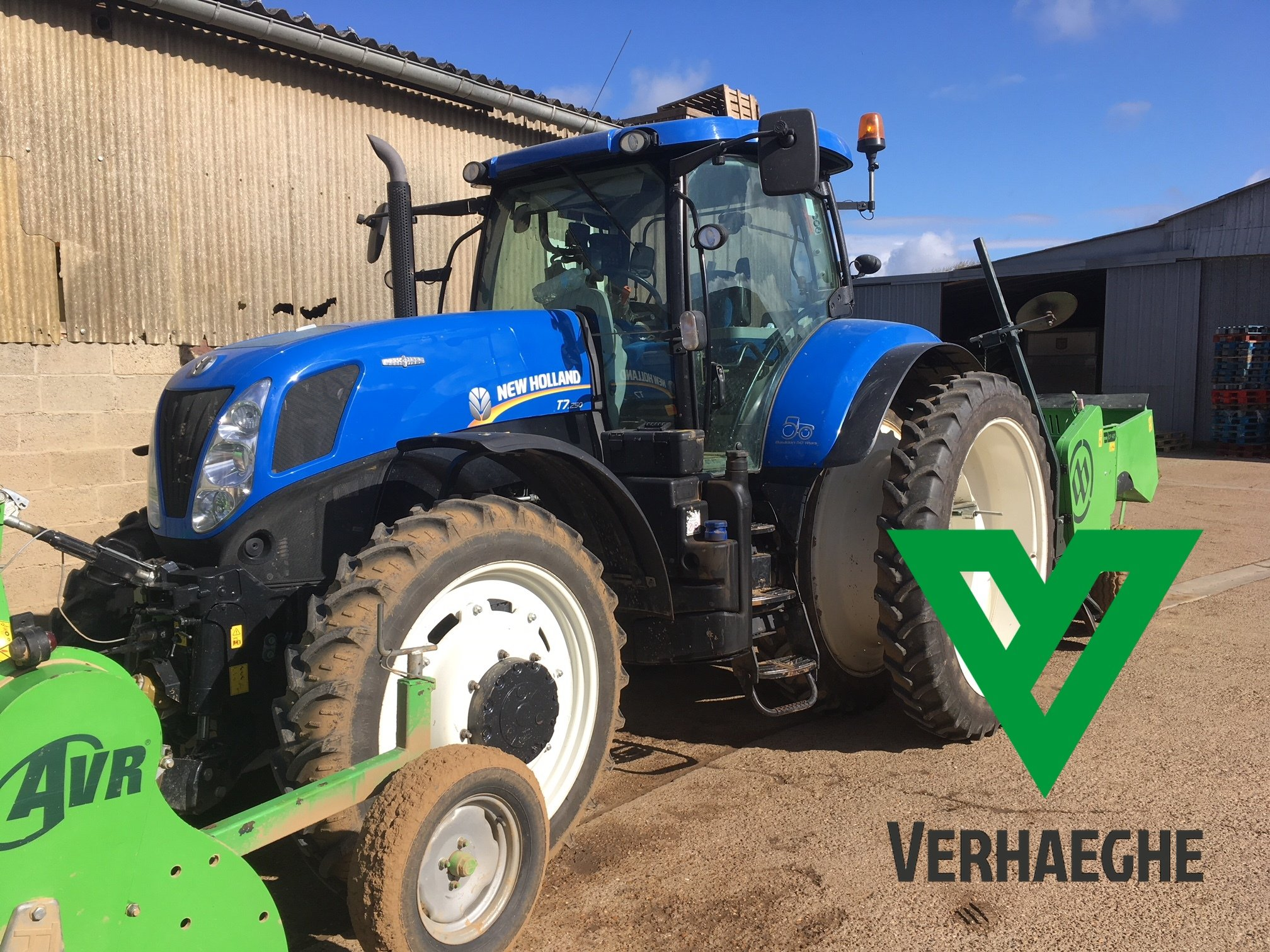 Tracteur agricole New Holland T7 250 - 1